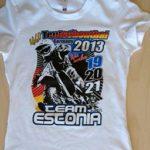 Team Estonia 2013 valge eest