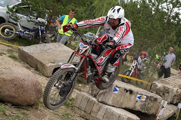 Tapal võisteldi nii moto- kui jalgrattatrial'is